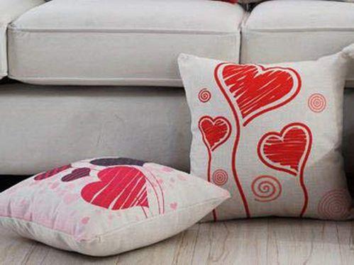 almohadas y cojines para parejas