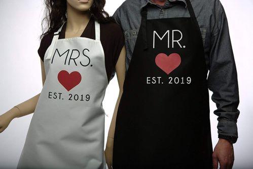 delantales para parejas