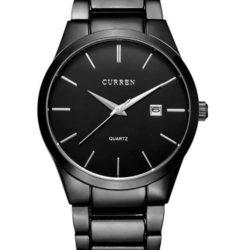 reloj tradicional de pulsera de hombre