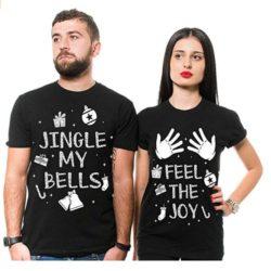 camiseta navideña de parejas