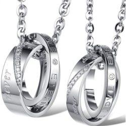 dijes de anillos para parejas