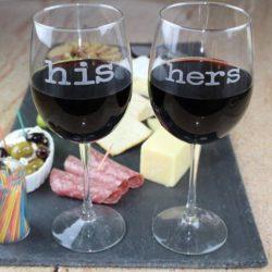 copas de vino para parejas
