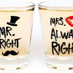 vasos de shot para parejas