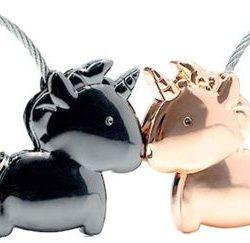 Llaveros de unicornios para parejas