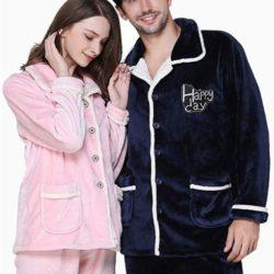 pijama invernal para parejas
