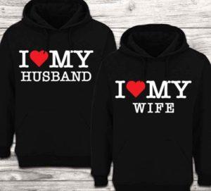 sudaderas con hoodies para parejas