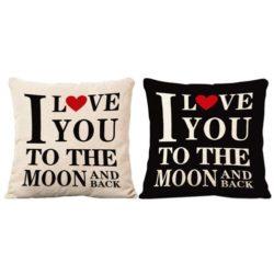almohadas de parejas