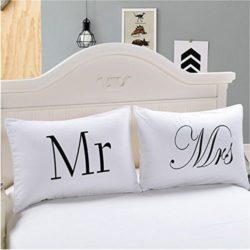 fundas de almohadas de parejas