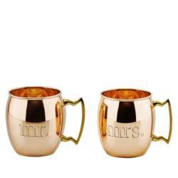 tazas de cobre para parejas