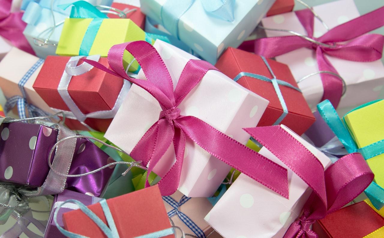 grupo de regalos