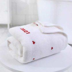 toalla de baño para parejas