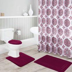 juego de felpudos para baño