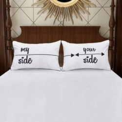 juego de fundas para almohadas de parejas