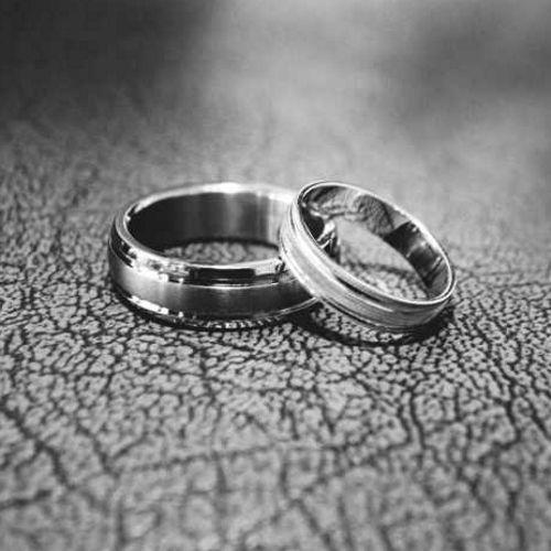 Par de anillos para parejas